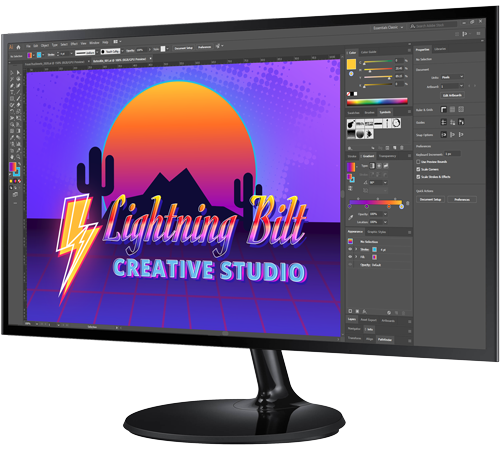 Graphic Design Monitor