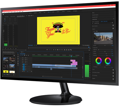 Video Production Monitor