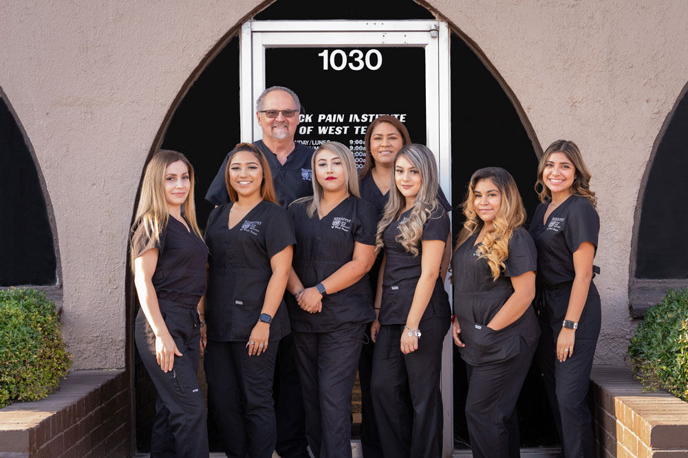 Dr. Mehaffey and Back Pain Institute Team