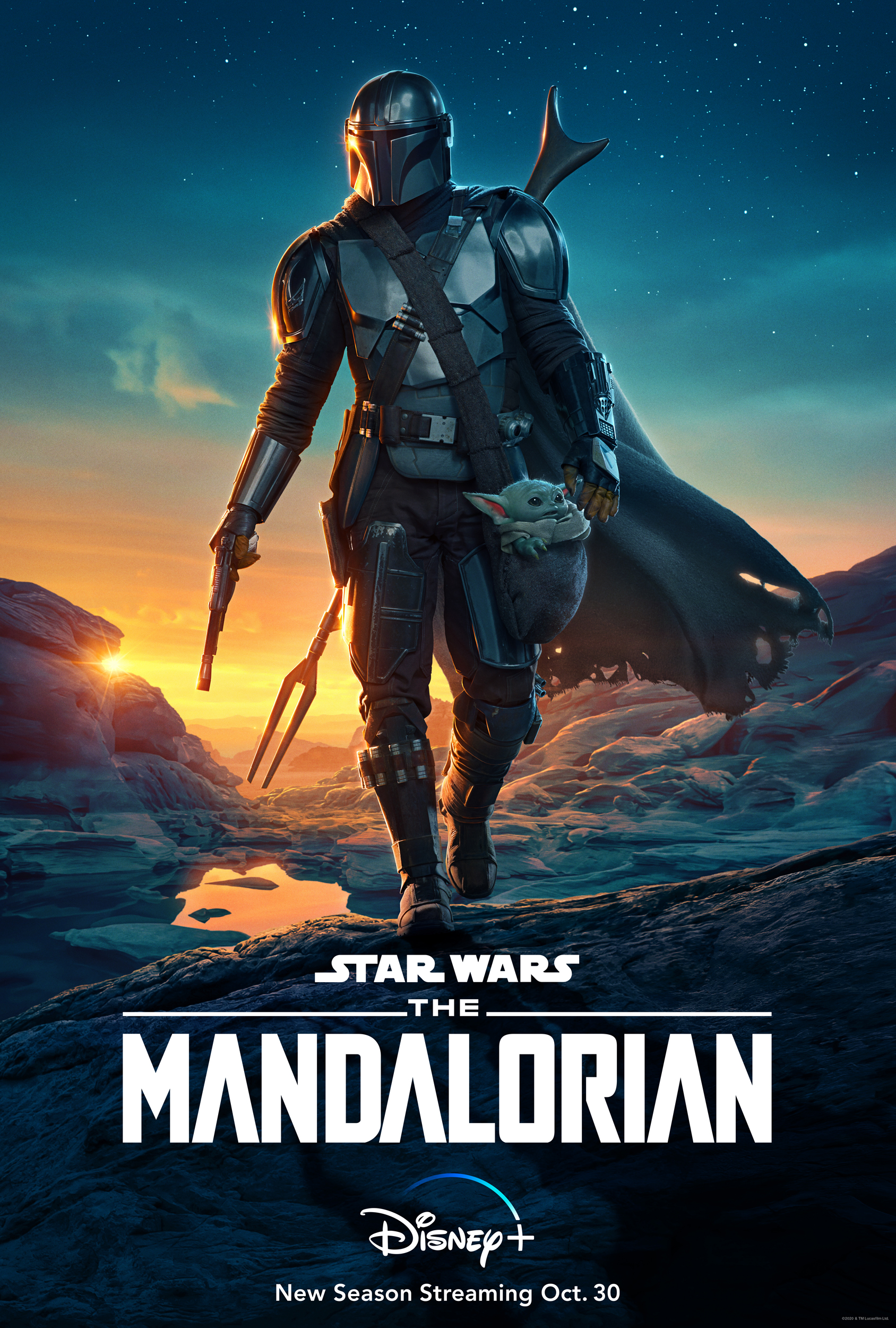 Star Wars The Mandalorian from Disney